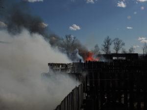 Десятилетняя девочка едва не спалила переулок